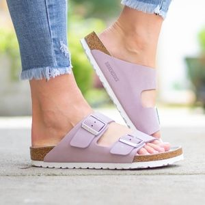 birkenstock arizona lilac 36 new in box